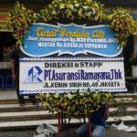 Bunga Papan Ucapan Turut Berduka Cita Bpk AKBP Muljanto
