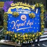 Bunga Papan Ucapan Turut Berduka Cita Bpk HM Lukminto