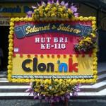 Bunga Papan Ucapan dan Selamat HUT BRI ke 118