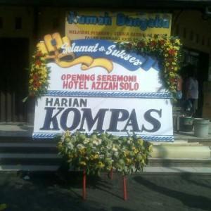 Bunga Papan Ucapan dan Sukses Opening Ceremoni Hotel Azizah Solo
